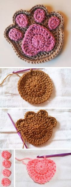 A lot of our readers have pets at home. We assume that at least fifty percent ( 50% ) of our visitors have them. So for them it might be a special day today. We are going to learn how to crochet a simple paw coaster. If you don't owe a pet yourself, this project… Read More Crochet Paw Tutorial