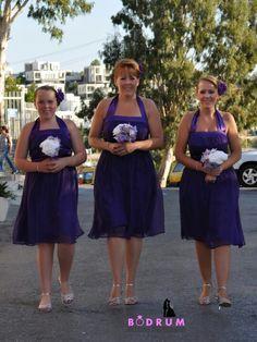 Bridemaids | Ferhat + Jennie Wedding Day | Hotel Istankoy Bodrum + Bodrum Bar Street | Wedding Photographer Bodrum | http://www.bodrumweddingphotography.com/ferhat-jennie-wedding-photography/