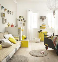 129 meilleures images du tableau chambre jaune   Nursery set up ...
