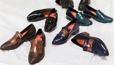 Loving our fashion flats 'Turkey' and 'Heron'. Metallic fashion women comfortable flats.   Show Now: Bared.com.au