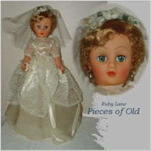 Vintage Bride Doll 1950's Fashion Doll, Near Mint Beauty!