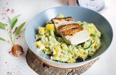 Low Carb falscher Coucous Salat mit Avocado & Mango – Low Carb Köstlichkeiten