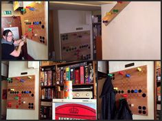 Mensch Ärgere dich nicht Garderobe für ein Spielelokal in Wien, made by Schmuckmöbel.at Shops, Lokal, Jewelry Holder, Design, Home Decor, Cloakroom Basin, Ideas, Tents, Decoration Home