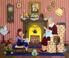 Argentina ~ Maria Laura Bratoz ~ Knitting with Grandma