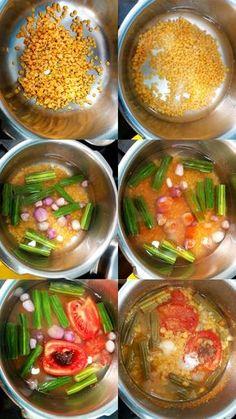 Bhavani Ganesan's daily sambar – Anyonecankoch Veg Recipes, Curry Recipes, Indian Food Recipes, Vegetarian Recipes, Cooking Recipes, Methi Recipes, Drink Recipes, Easy Recipes, Chicken Recipes