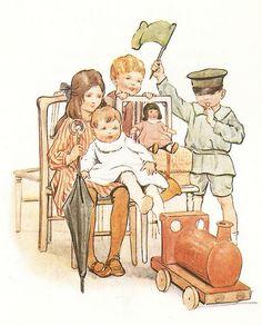illustration by Margaret W. Tarrant.
