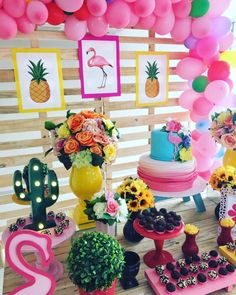 Aloha Party, Luau Party, Kids Luau Parties, Birthday Parties, Flamenco Party, Pool Cake, Flamingo Birthday, Water Party, My Pool