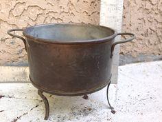 Brass (?) pot