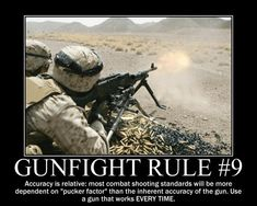 Rule #9 HOLY HELL LOOK AT ALL THAT BRASS.... HALF THE NATION WOULD BE BLOWN AWAY IF I WAS BEHIND THAT GUN