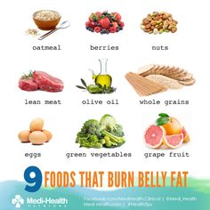There are easy ways to help you lose weight! 9 Foods that burn belly fats. #HealthTips