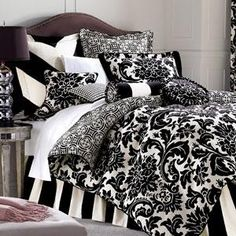 sophisticated+comforters | home search brown symphony the black and white trend is big and the ...