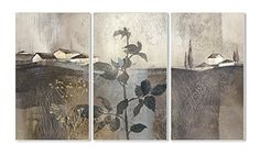 The Stupell Home Decor Collection Houses on Rolling Hills on Champagne Gold Foil 3Piece Triptych Wall Plaque Set -- Check this awesome product by going to the link at the image.
