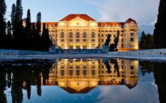 University of Debrecen, Hungary Heart Of Europe, Danube River, Central Europe, Budapest, Wonders Of The World, Croatia, The Good Place, Beautiful Places, Castle