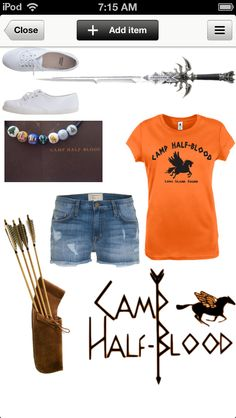 Random CAMP HALF BLOOD c&er outfit! Id change the shoes to high tops that come  sc 1 st  Pinterest & Percy jackson | Pinterest | Percy jackson Jackson and Annabeth chase