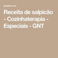 Receita de salpicão - Cozinhaterapia - Especiais - GNT