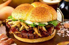 The Burger, 200$  Wagyu's beef, White truffles & Pata Negra's ham