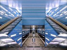U-Bahn Überseequartier station, Hamburg, Germany | Flickr: Intercambio de fotos
