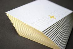 Tigg + Coll letterpress business cards