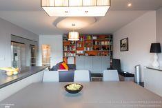 Une cuisine avec îlot central GED Cucine finition RAL 7038 gris ...
