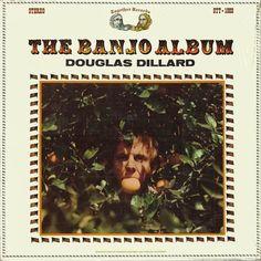 #TapasDeDiscos Douglas Dillard The Banjo Album