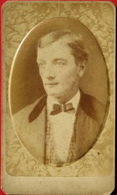 Victorian Tinted Portrait - Raised Ovals - 1870s CDVs by addie65, via Flickr