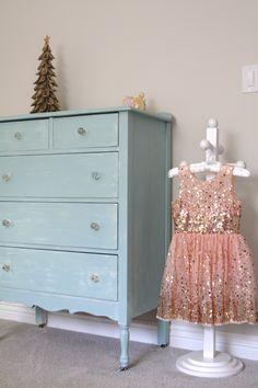 Simply Organized little girls bedroom