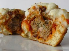 Meatball Sub Cupcake from Cookies & Cups