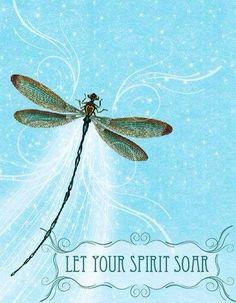 Art Journal Inspiration: Dragonfly.  ⊱⚜ l o v e l y ⚜⊰