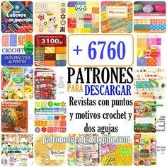27 Super Ideas for crochet ganchillo patrones Crochet Symbols, Crochet Stitches Patterns, Knitting Stitches, Knitting Patterns, Crochet Blanket Border, Crochet Pillow, Knitting Magazine, Crochet Magazine, Amigurumi Tutorial