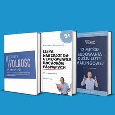 3 książki od Mariusza Kobaka z bloga KierunekWolnosc.pl Cover, Books, Libros, Book, Book Illustrations, Libri