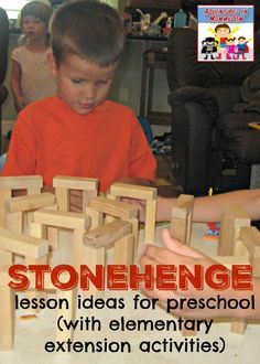 Stonehenge lesson for preschool and elementary