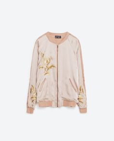 EMBROIDERED BOMBER-STYLE JACKET-BOMBERS-WOMAN | ZARA United States