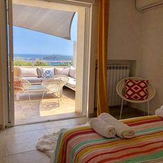 Beautiful villa for rent close to Porto Vecchio for 12 people. Heated pool, A/C, stunning views sea and mountain Porto Vecchio, Beautiful Villas, Heated Pool, Corsica, Location, Relax, Curtains, Room, Destinations