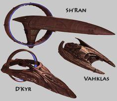 New project: Vulcan ships for Star Trek – Horizon
