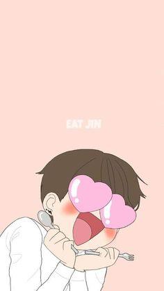 Papel de Parede de Jin-BTS