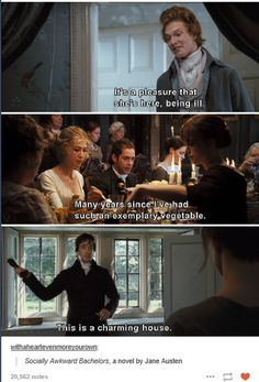 pride and prejudice These lines were written for the movie and were not written by Jane Austen but they are still socially awkward. I relate to them so much. Elizabeth Gaskell, Elizabeth Bennet, Fandoms, Pride And Prejudice 2005, Pride And Prejudice Quotes, Film Anime, Jane Austen Books, Mr Darcy, Film Serie
