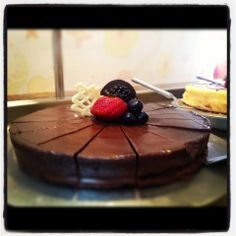 Chocolate cake anyone? #CruiseLikeaNorwegian