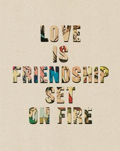 First have a friendship then a relationship. Although all friendships are relationships.