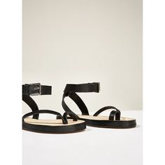STUDIO LEATHER STRAPPY SANDALS-NEW IN-WOMAN | ZARA United States