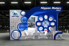 Nippon Motors Exhibition Stand Design for Automechanica Dubai UAE.