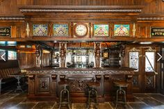 Old Irish Pub finds new life in a mega mansion Game Room