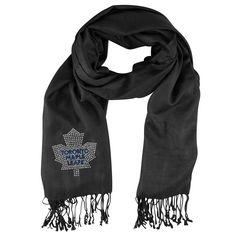 Toronto Maple Leafs NHL Black Pashi Fan Scarf