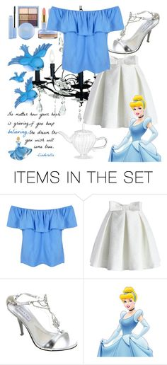 """Modern Day Cinderella Halloween Costume Idea"" by wisdomgoddess22 ❤ liked on Polyvore featuring art and modern"