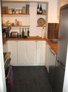 Una gran cocina en pocos metros