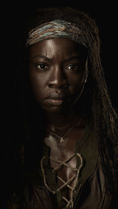 #TV Show- Michonne. The most kick-ass character on the show.
