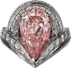 Cartier Fancy Color Diamond Ring