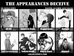 Manga to Read   The Appearances Deceive