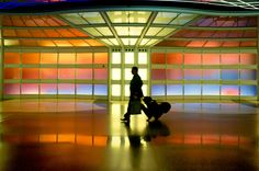O'Hare Airport Pedestrian Tunnel by Victor Garza on 500px