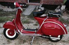 Vespa 150 GL: RAL 3003 Rubinrot