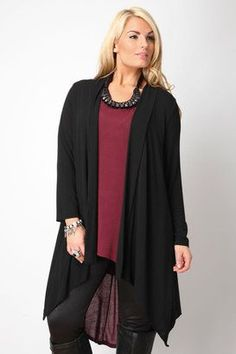 Trendy Plus Size Fashion for Women: Autumn Knitwear. I ove this even though she does not look like a plus size women.